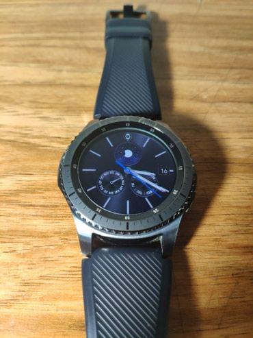 Мужские Черные Smart Наручные часы Samsung в Бишкек