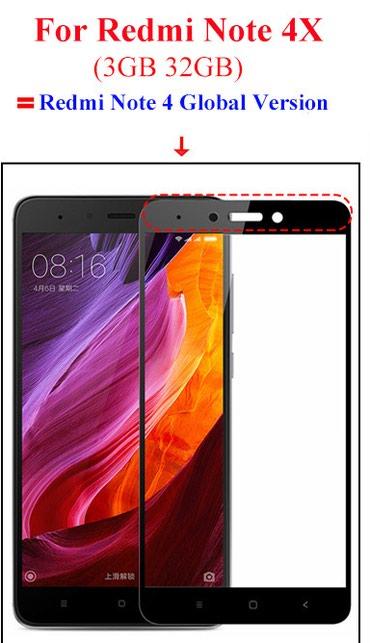 Xiaomi Redmi Note 4X üçün Ekran Qoruyucu - Bakı