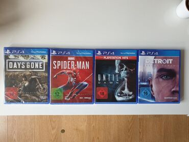 PS4 (Sony Playstation 4) | Srbija: IGRICE ZA PS4 : DAYS GONE 3500 NOVA U CELOFANUSPIDERMAN 3500, NOVA U