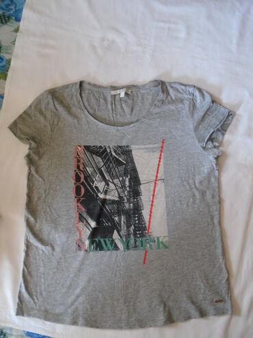 Pantalone tom tailorbroj - Srbija: Tom Taylor Denim, tanja majica sa motivom Brooklyn-a, New York, L