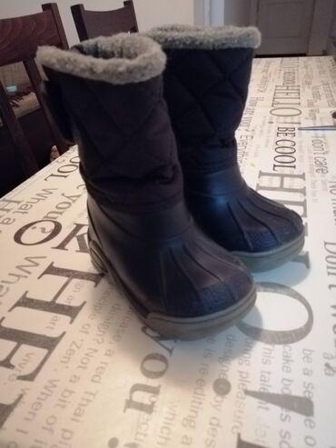Zimske čizme, za kišu i sneg, nepromočive. Broj 24,UG 13cm