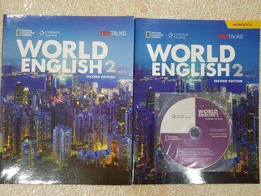 İngilis dili kitab World English 2 təzədir heç istifadə edilməyib