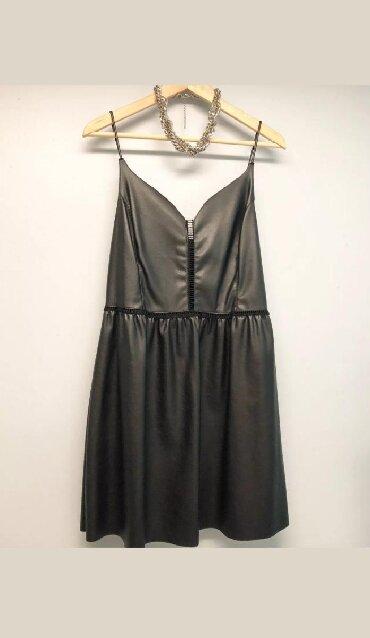 туника zara в Кыргызстан: Платье Zara из искусственной кожи! Мини платье из искусственной кожи