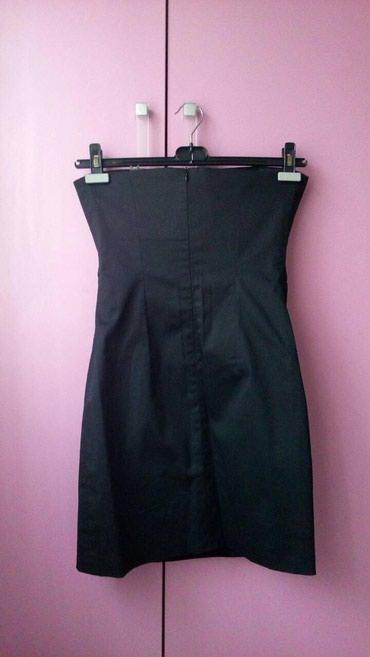 Crna sirena haljina - Srbija: Ps fashion top crna haljina vel.40Elegantna haljina sa ukrasnim