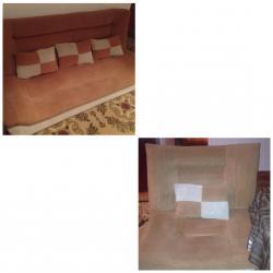 Bakı şəhərində Диван 2 кресла 5 декоративеых подушек, подержанный