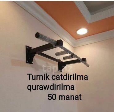 Турники - Азербайджан: Bakı daxili catdirilma quraşdırılması daxil 50m