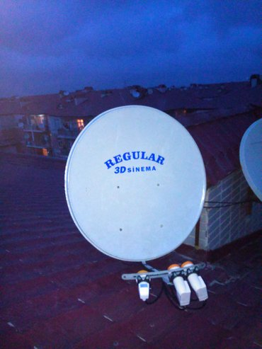 Bakı şəhərində krosna antena kredit ve negd catdirilma qurashdirilma