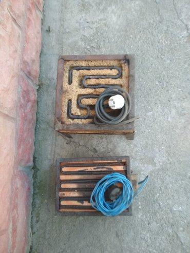 Продажа электрических плиток в хорошем состоянии цена 250 сом в Бишкек