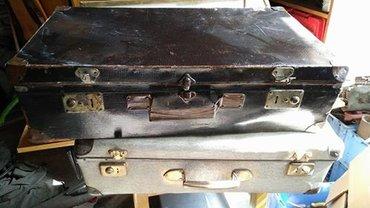 Starinski koferi preuredjeni. Cena je za komad. - Kikinda