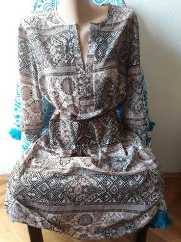 Prelepa Naco fashion haljina, moze biti i tunika,velicina 40 jednom