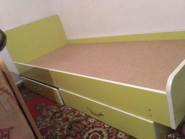 Кровать 190*80,без матраса, с ящиками в Бишкек