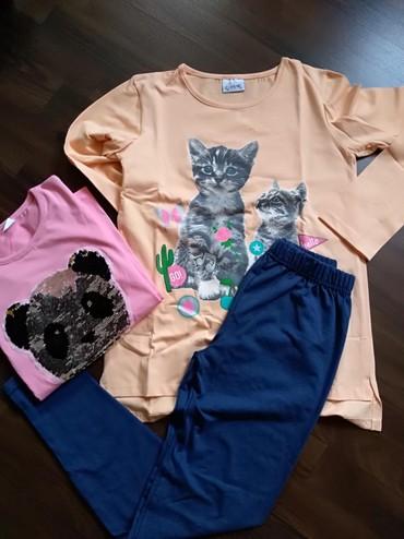 Komplet nove garderobe za devojčicu. Domaći proizvodjači. Veličina - Ruma