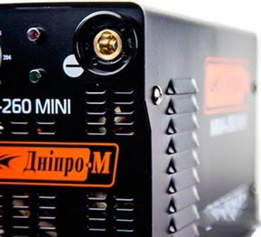 Aparat za zavarivanje Днiпрo-M MMA 260 mini je kompaktan - Belgrade