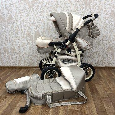 все за 3000 в Кыргызстан: Польская коляска трансформер, в идеальном состоянии!!!Все фотографии в