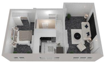 Продаю 2 комнатную квартиру в мкр.Достук под ПСО в Бишкек