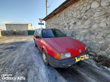 запчасти на volkswagen passat b3 в Кыргызстан: Volkswagen Passat 1.8 л. 1993 | 348964 км