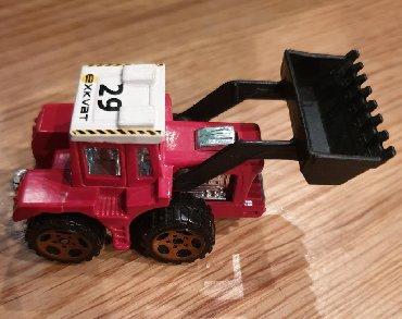 MATCHBOX tractor chovel - traktor auto BAGER. Automobilcic igracka - Belgrade