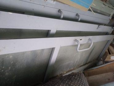 Продаю алюминиевые двери в отличном состоянии б/у в Бишкек