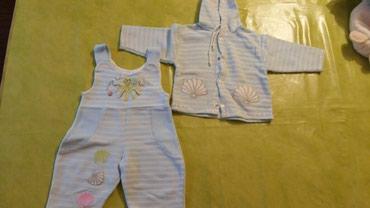 Komplet za bebe vel.6M,polovan i ocuvan bez ostecenja - Petrovac na Mlavi