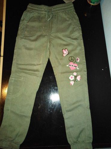 H&M decije pantalonice 116,5/6 godina,nisu nosene samo oprane - Uzice