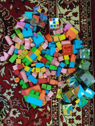 Кубики, лего за все 500 сом