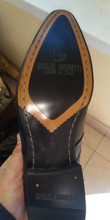 Ликвидация товара две пары по цене одной мужские итальянские туфли