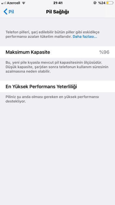 Elektronika Şəmkirda: Apple Iphone