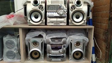 муз-центр-филипс в Кыргызстан: Продаю муз центры разные