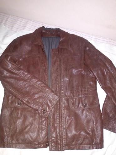 Отдам в обмен.  Куртка деми кожзам в Бишкек