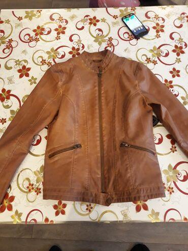 Ženska odeća | Cuprija: Kožna jakna nova doneta iz nemačke cena jakne je bila 350e nova nikad
