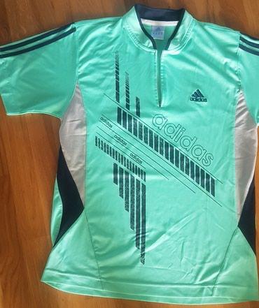 Adidas-l-velicina - Srbija: Adidas original sportska majica zelena, za sport ili trening