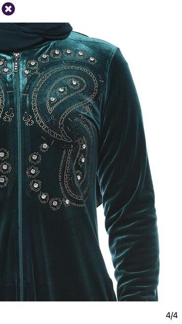 Хиджаб роскошный из королевского бархата, украшенный стразами, имеются