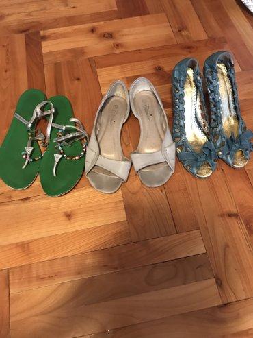 Kozna sandale sve su broj 37 Sva tri para za 1500 din - Belgrade