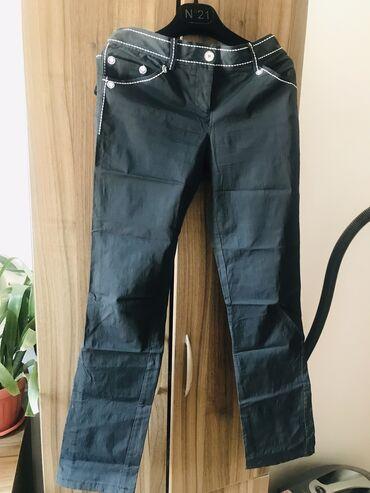 Женская одежда - Милянфан: Чёрные брюки.Италия.Бренд Роккоборокко.Размер 44-46