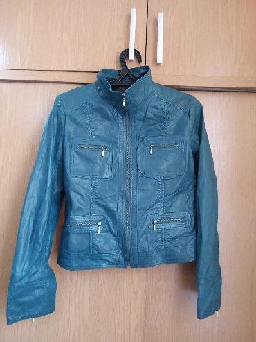 женскую куртку новую в Кыргызстан: Продаю новую  кожаную куртку