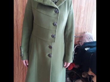 Продаю пальто деми салатного цвета турция в Бишкек