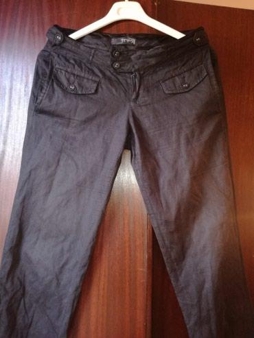 Pantalone dole sa manzetnama,vel:36 - Belgrade