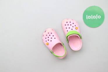 Дитячі крокси для дівчинки, вік 2-3 р.     Довжина підошви: 15 см  Ста