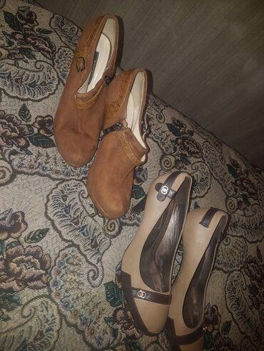 легковой прицеп грузоподъемность 1000 кг в Кыргызстан: Серые туфли 37 размер на каблуках. И ботильоны красивый коричневый