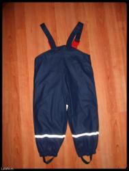Pantalone ski teget vel. 2-3 nepromocive kao nove - Beograd