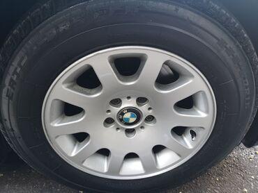 bmw disk - Azərbaycan: BMW e 38 üçün original 60 stil disk və təkər. İdeal vəziyyətdə