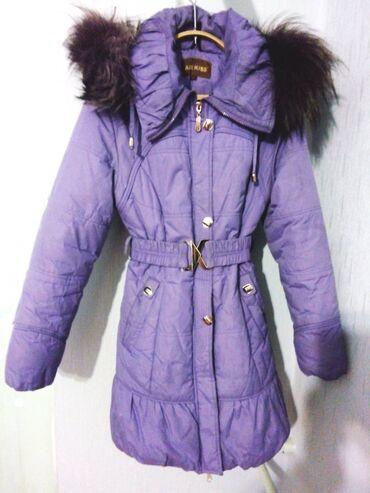 Продается зимняя женская куртка, размер 40-42, б/у, в отличном