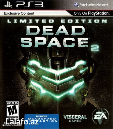 """Bakı şəhərində """"dead space 2"""" ps3 oyunu"""