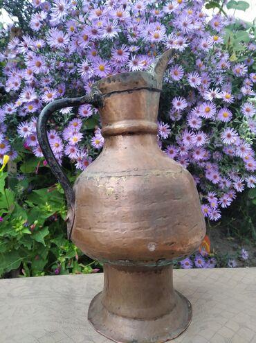 Антикварные вазы - Кыргызстан: Старинный кумган продаётся окончательная 5тысяч сом