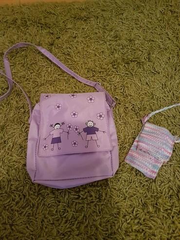 Avon torba - Srbija: Avon dečija torbica plus gratis mala pletena torbica za telefon
