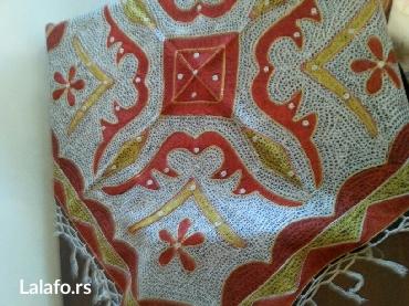 Kućni dekor - Crvenka: Stoljnjak .sa Swarovski kristalima -nov -  galerije iz Grece