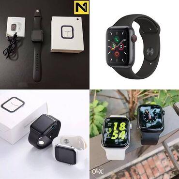 Qara Uniseks Qol saatları Apple