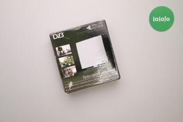 Телевізійна кімнатна антена Kvant-Efir ARU-01    Колір: білий Бренд: K
