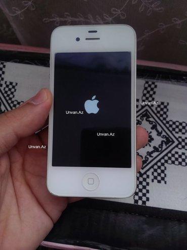 Bakı şəhərində Iphone 4-8 gb yaddas zeng edin etrafli