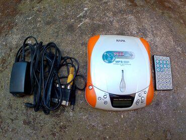 NAPA φορητό CD, MP3 & VCD player με τηλεκοντρολ. Σε πολύ καλή